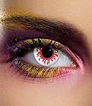 EDIT 90 Day Coloured Contact Lenses (Blood Splat)