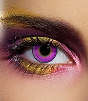 EDIT 90 Day Coloured Contact Lenses (Tri Tone Violet)