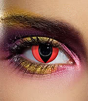 EDIT 90 Day Coloured Contact Lenses (Red Cat's Eye)