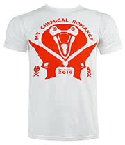 My Chemical Romance Kobrahead T Shirt (White)