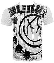 Blink 182 Spelled Out T Shirt (White)