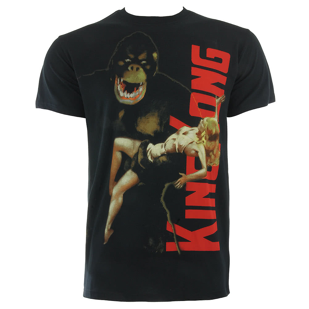 King Kong V Poster T Shirt (Black)