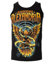 Asking Alexandria Freedom Vest (Black)