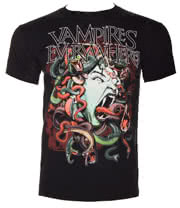 Vampires Everywhere Medusa T Shirt (Black)