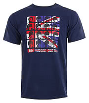 The Beatles Hard Day's Night T Shirt (Blue)