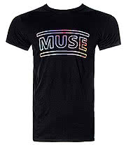 Muse 2nd Law T Shirt (Black)
