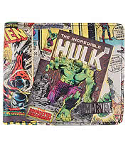 Marvel Comic Print Wallet (Multi)