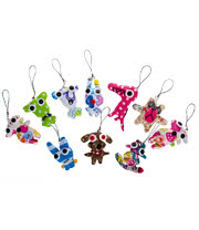 Blue Banana Small Ragdoll Keychain (Multi-Coloured)