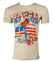 Bruce Springsteen Tour T Shirt (White)