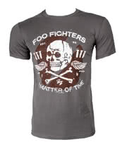 Foo Fighters Matter of Time T Shirt (Grey)