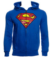 DC Comics Superman Zipped Hoo