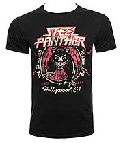 Steel Panther Death to All But Metal T Shirt (Black)