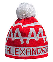 Asking Alexandria Bobble Hat (Red)
