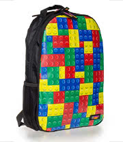 Urban Junk Brick It Backpack (Multi/Black)