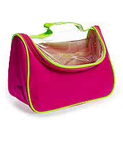 Blue Banana Wash Bag (Pink/Green)