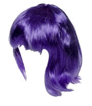 Blue Banana Wig (Purple)