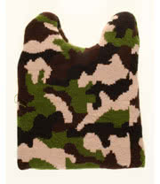 Blue Banana Camouflage Beanie (Multi-Coloured)