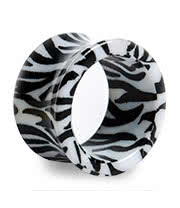 Blue Banana Zebra Tunnel (White/Black)