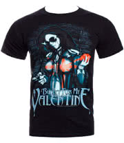 Bullet For My Valentine Armed T Shirt (Black)