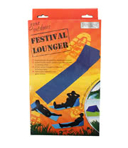 Festival Lounger (Blue)