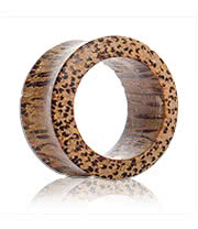 Blue Banana Coconut Wood Flesh Tunnel 16 - 25mm