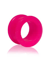 Blue Banana Silicon Flesh Tunnel (Pink) 14-22mm