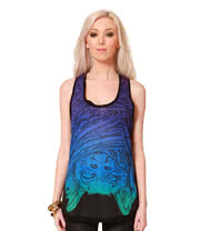 Cold Heart Hibernation Vest (Blue/Black)