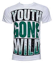 Asking Alexandria Youth Gone Wild T Shirt (White)