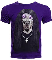 Pets Rock Metal T Shirt (Purple)