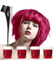 La Riche Directions Hair Dye 4 Pack (Pink Flamingo)