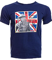 Dad's Army They Don't Like It Up 'Em T Shirt (Blue)