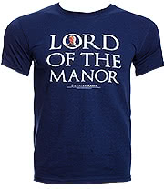 Downton Abbey Lord of The Manor T Shirt (Navy)