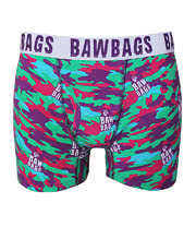 Bawbags Camo Acid Boxers (Multi-Coloured)
