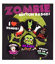 Zombie Badge Pack