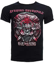 Avenged Sevenfold Battle Armour T Shirt (Black)