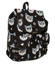 Banned Kitty Bag (Blue)