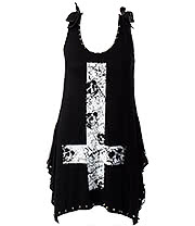 Jawbreaker Skull & Cross Vest (Black)