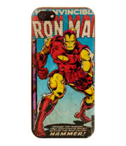 Marvel Comics iPhone 5 Iron Man Phone Case (Multi-Coloured)