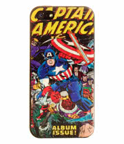 Marvel Comics iPhone 5 Phone Case (Captain America)