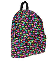 Bleeding Heart Canvas Alien Backpack (Multi-Coloured)