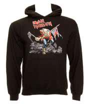 Iron Maiden Trooper Hoodie (Black)