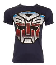 Transformers Autobot Logo T Shirt (Navy)