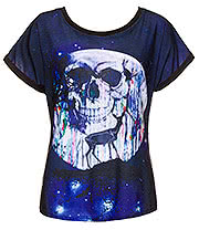 Cold Heart Midnight Transform Baggy Top (Black)