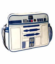 Star Wars R2D2 Retro Messenger Bag (White)