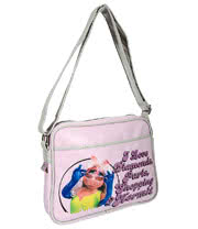 The Muppets Miss Piggy Messenger Bag (Pink)