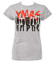 You Me At Six Photo Skinny T Shirt (Grey)