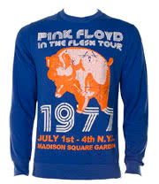 Pink Floyd Flesh 77 Sweatshirt (Blue)