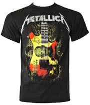 Metallica Kirk Mummy T Shirt (Black)