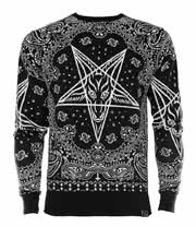 Killstar Bandana Sweatshirt (Black)