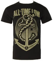 All Time Low Holds It Down T Shirt (Black)